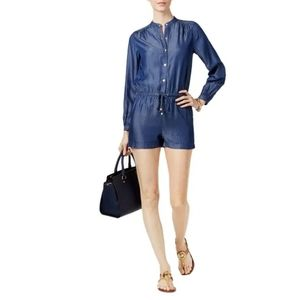Michael Kors Small Long sleeve Jean Romper
